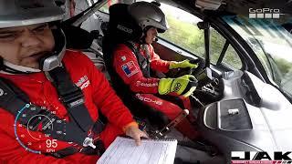 Rally Mobil GP Rio Bueno - La Unión shakedown A bordo con Pedro Devaud - Diego Cárdenas