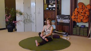 You are not 30 years old any longer! Effective hip and back stretches with Sherry Zak Morris, E-RYT