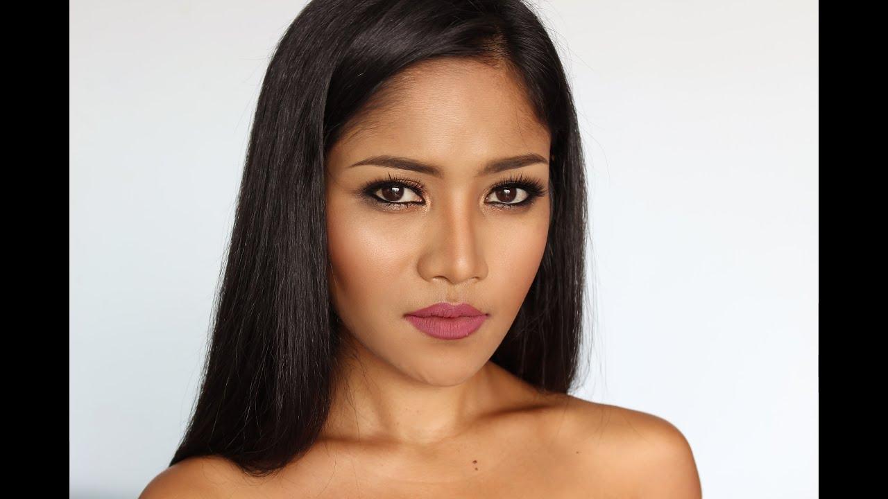 everyday makeup tan skin