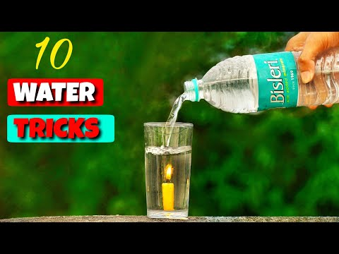 10 Amazing Water Experiments    Science Experiments With Water