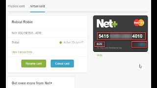 How To Get Free Virtual MasterCard Any Country and Goddady Domain by Card