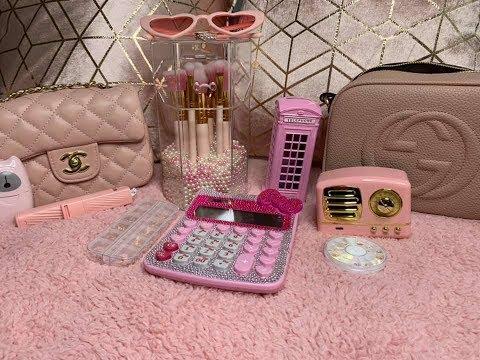 AliExpress haul -pink