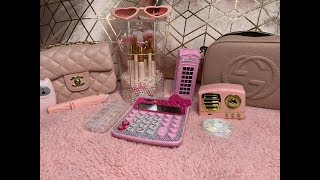 AliExpress haul -pink