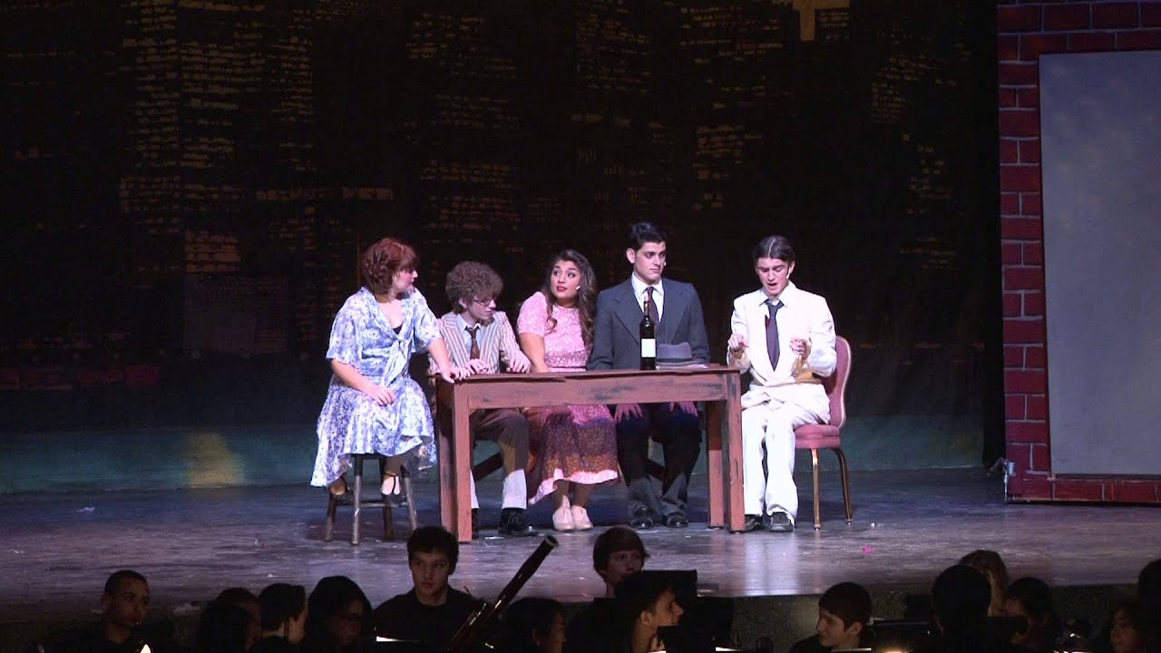 Conversation Piece Wonderful Town Walt Whitman Hs Musical Youtube