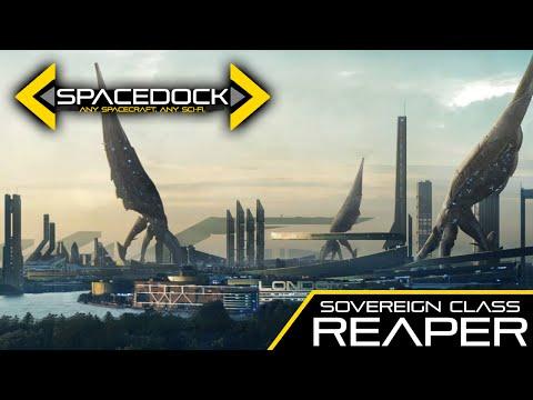 Mass Effect: Sovereign Class Reaper - Spacedock