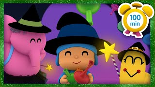 🔮 POCOYO in ENGLISH - Halloween Magic Wand [100 min] | Full Episodes | VIDEOS and CARTOONS for KIDS