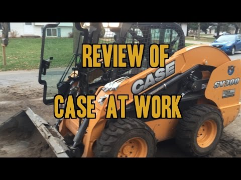 Case Skid Loader - Heavy Equipment Review