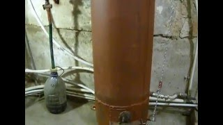 Печь бубафоня из газовых баллонов с водяной рубашкой Ч.1.Модернизация