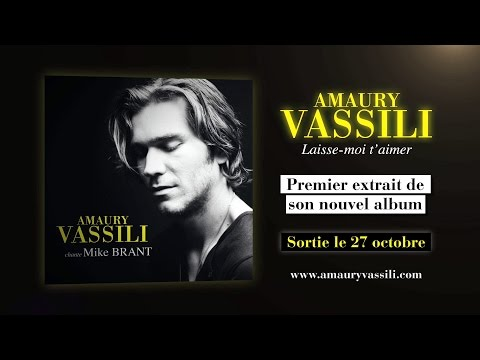 Amaury Vassili - Laisse-moi t'aimer (Official Lyrics video)