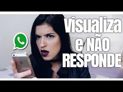 Visualiza E Não Responde Como Lidar Youtube
