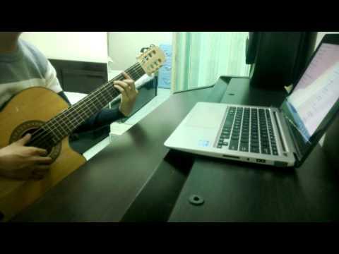 Dấu Mưa - Trọng Hậu - Guitar cover (đệm hát)