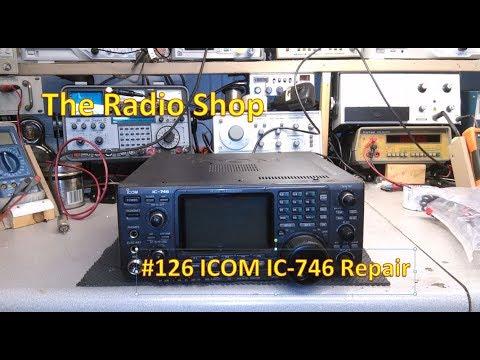 #126 ICOM IC 746 Repair