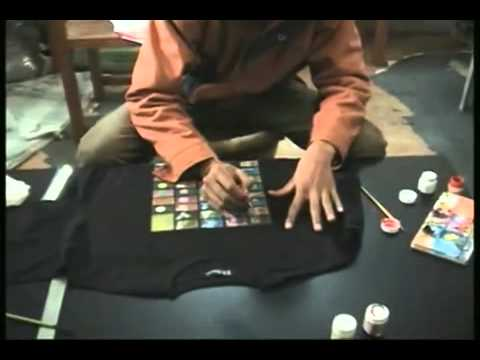 Amazing Hand Painted Tees.mp4