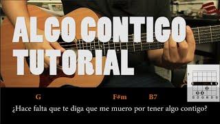 Vicentico - Algo Contigo Tutorial Guitarra PASO A PASO (HD)