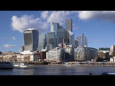 New Visualizations Show How London's Skyline Will Look in 2026 (4K)