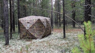 Палатка Куб Ex-Pro Winter 2, обзор