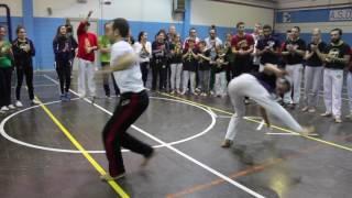 Final roda. Abalou capoeira. CDO Milan