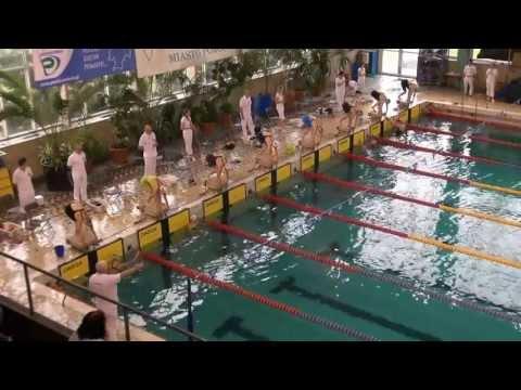 Liga SMS w Pływaniu - Oświęcim 2013 - 100dow s6 kobiet