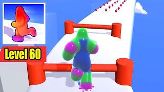 Blob Runner 3D GamePlay Walkthrough 60 Levels
