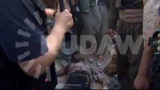 pkk fighters killed isis member in kurdistan north iraq