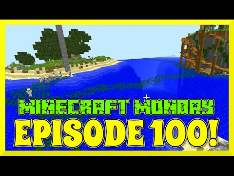 MINECRAFT MONDAY EP100 - Double BRIDGES PARTY with GAMER CHAD and FANS