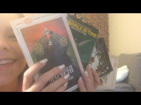 ASMR Library Volunteer Helps You Pick Out Books