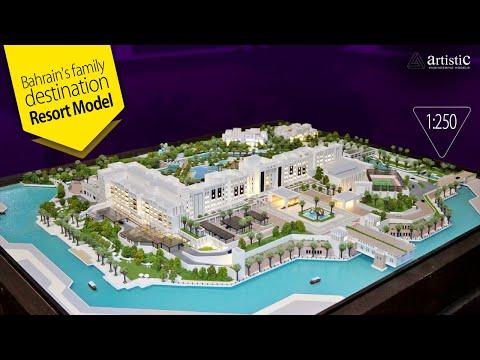 Architectural Model Making of Five-Star Hospitality Project - Al Sahel Resort, Bahrain