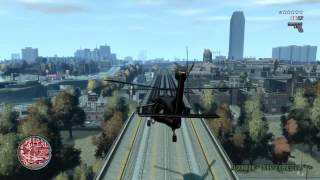 GTA 4 PC Max Settings Helicopter Gameplay