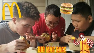 THE BIG MAC CHALLENGE!!!