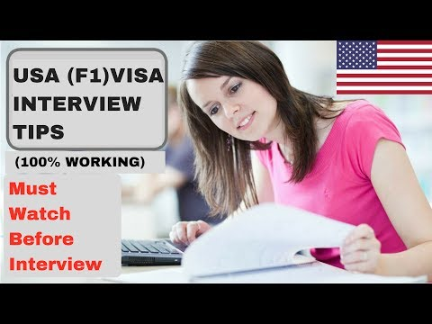 (100% Worked) | USA (F1) Visa Interview Tips | Study Abroad