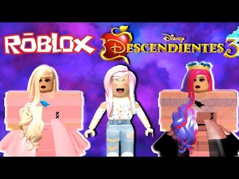 Disney Descendientes 3 En Roblox Jugando Como Mal Evie