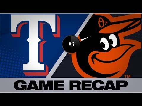 Odor, Santana Lead The Rangers To A 9-4 Win | Rangers-Orioles Game Highlights 9/7/19