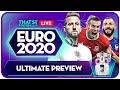 EURO 2020 PREVIEW LIVE! Goldbridge and The Crew!