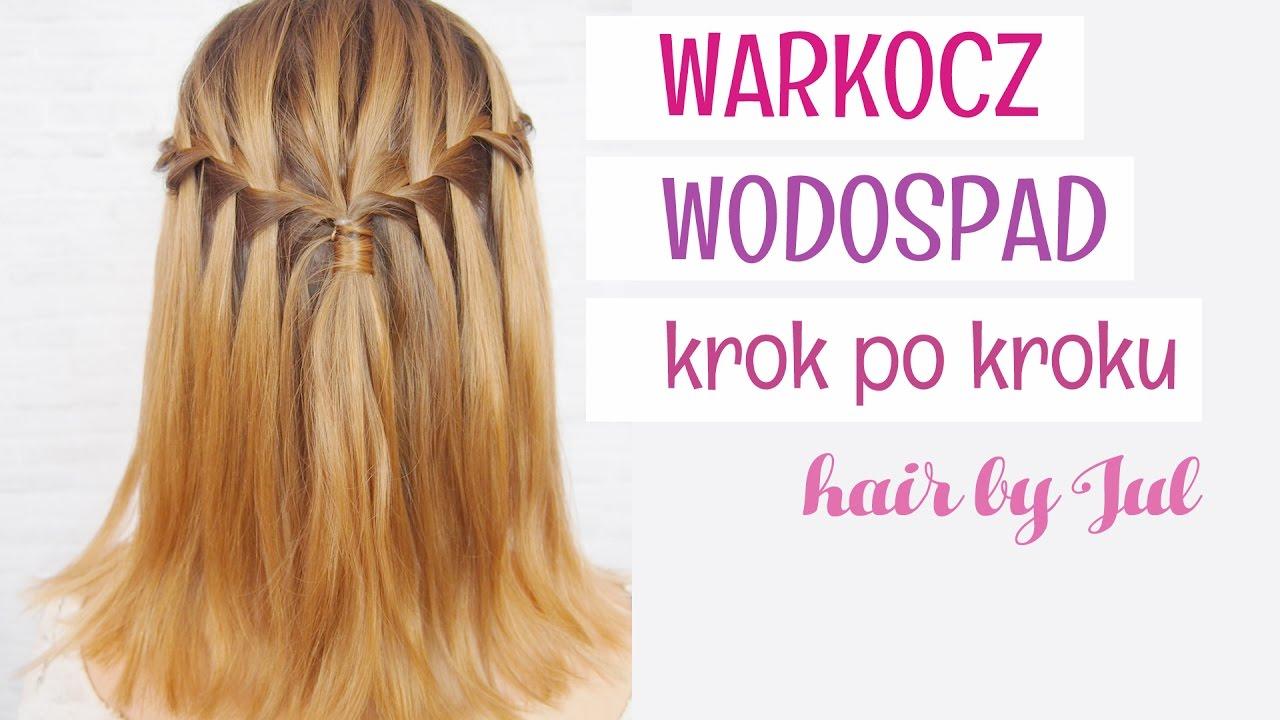 Warkocz Wodospad 10 Warkoczy Krok Po Kroku Hair By Jul