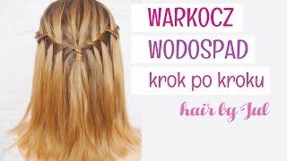 Warkocz wodospad - 10 warkoczy krok po kroku - hair by Jul