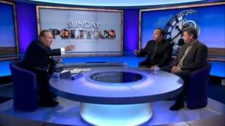 Alex Jones blasts at the BBC One Sunday Politics