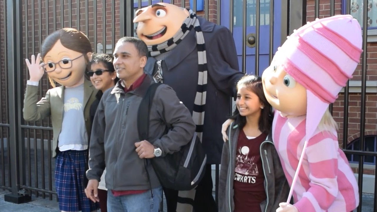 despicable me girls meet grumpy