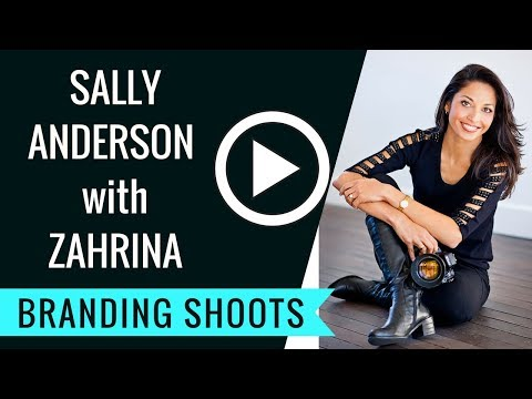 Branding Photography - Sally Anderson Branding VIDEO by Zahrina Photography