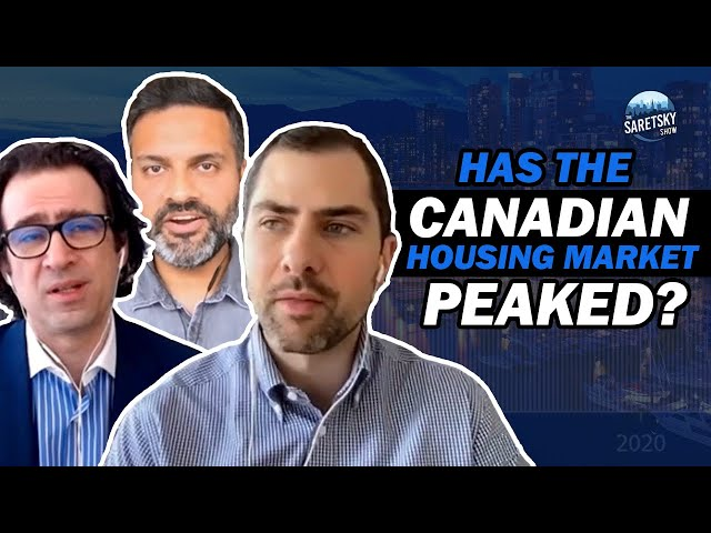 Has The Canadian Housing Market Peaked?