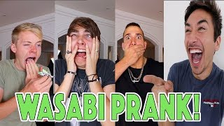 WASABI PRANK! (EXTREMELY HOT) *THEY FREAKED OUT!*