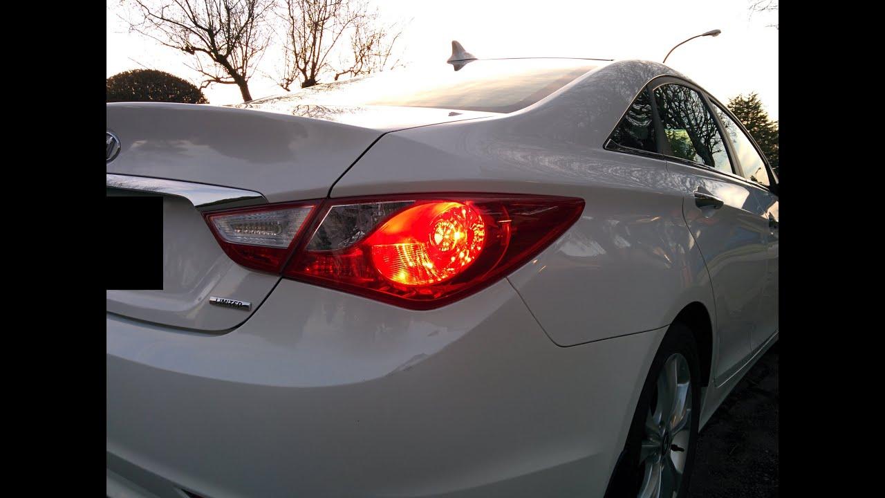 medium resolution of hyundai sonata 2011 2014 tail light installation