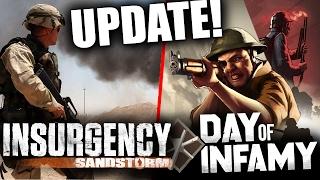 Insurgency: Sandstorm & Day of Infamy | Update