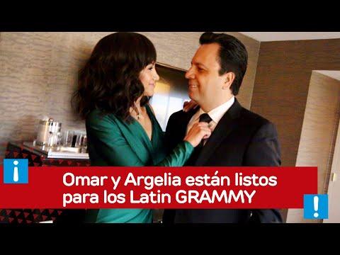 Omar y Argelia están listos para los Latin GRAMMY