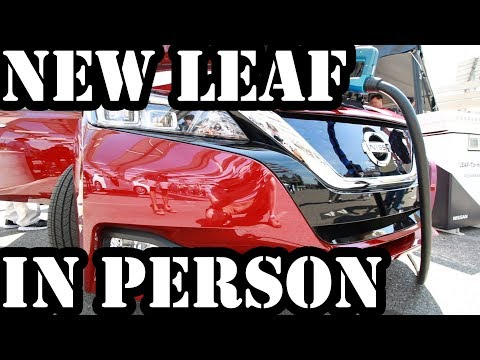 2018 Nissan Leaf: A Closer Look At NDEW Cupertino