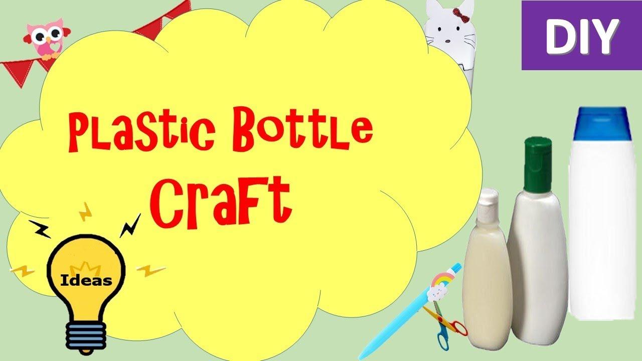 Diy|Plastic Bottle craft ideas | key holder from plasatic bottle ...