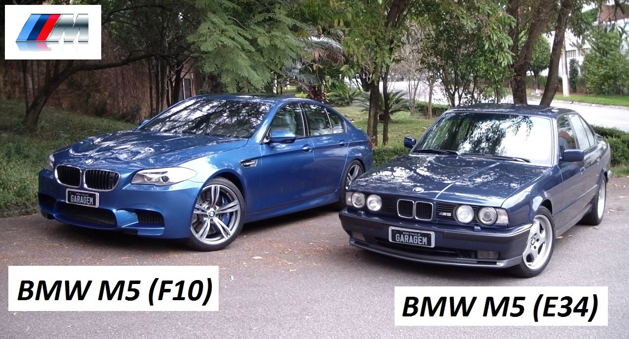 garagem do bellote tv bmw m5 e34 vs bmw m5 f10 youtube. Black Bedroom Furniture Sets. Home Design Ideas