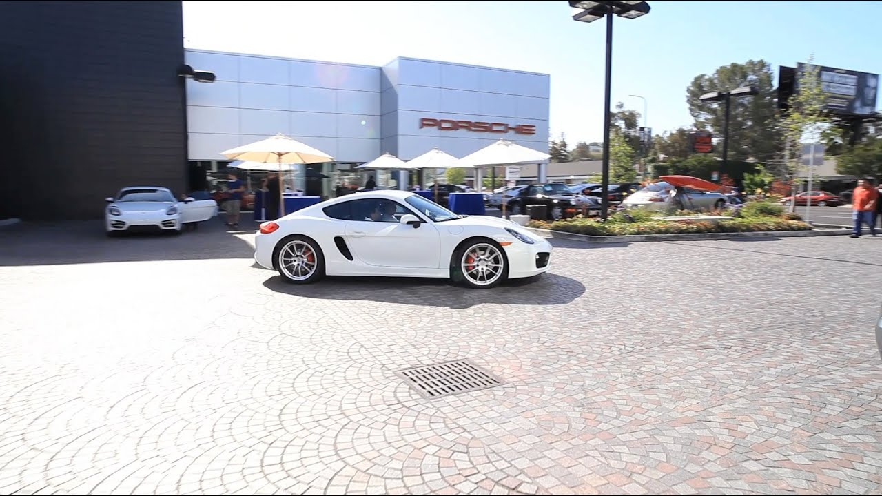 porsche los angeles dealership 2014 cayman s launch | auto gallery