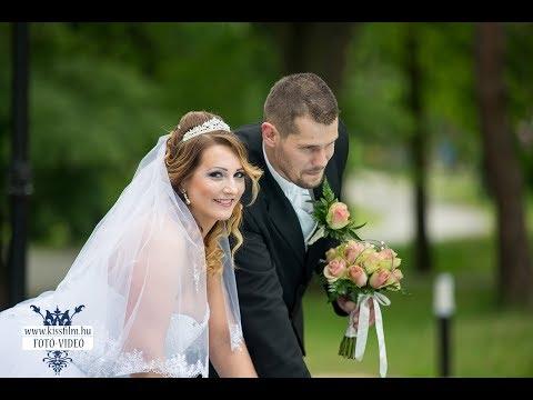 Kinga és Tibi esküvői felvételei Nyíregyházán (La Bodega Bistro & Cafe)