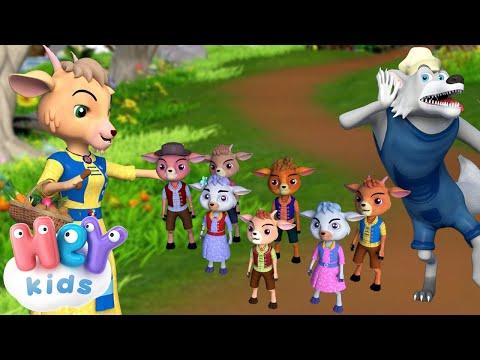Волк и Семеро Козлят - Сказка для Детей - Сказки на ночь