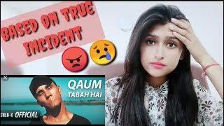 Qaum Tabah Hai (Official Video)  l Chen-K l Urdu Rap l Pahadigirl Reaction